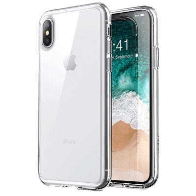 op lung iphone x/ xs vucase unique skid nhua deo mau den