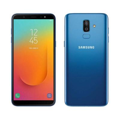 galaxy j8 mau xanh da troi