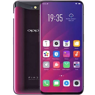 oppo find x hang cong ty mau do