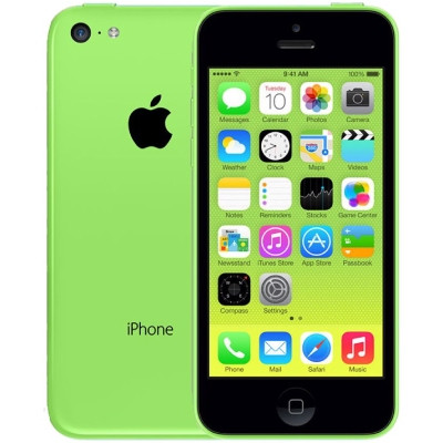 iphone 5c 16gb lock cu 99 xanh la