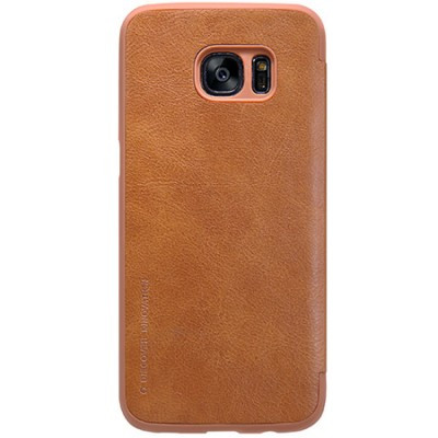 op lung Galaxy S7 Nillkin Qin Leather Case