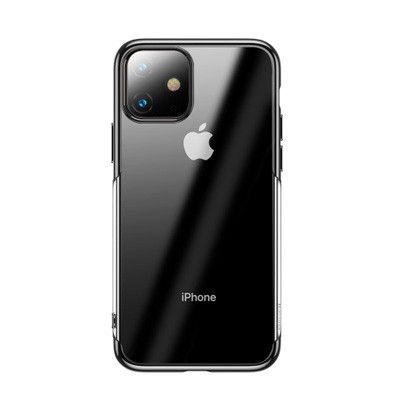 op lung iphone 11 pro trong suot vien mau baseus shining case