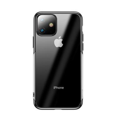 op lung iphone 11 pro max trong suot vien mau baseus shining case