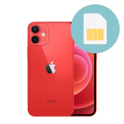 ghep sim iphone 12 mini