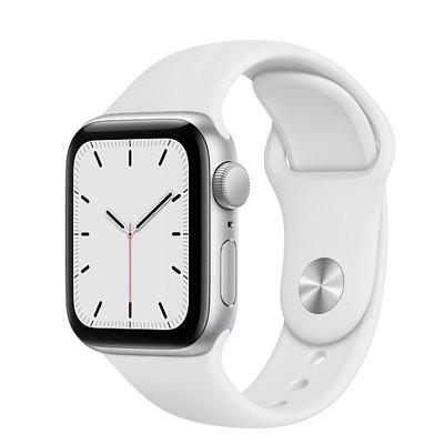 apple watch se 40mm gps cu silver
