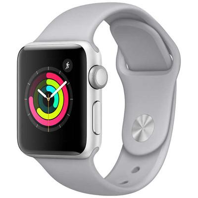 apple watch series 3 - 38mm - lte - mặt nhôm, dây cao su