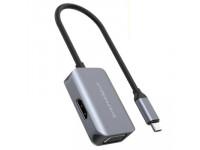 Hub chuyển đa năng Hyperdrive Bar 2 in 1 USB-C Macbook, iPad Pro (HDMI/VGA + USB C)