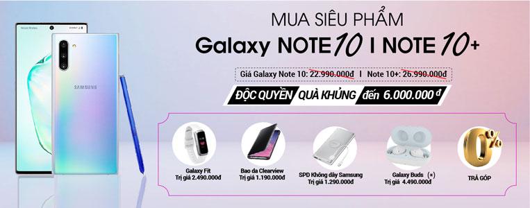 Đặt trước Galaxy Note 10