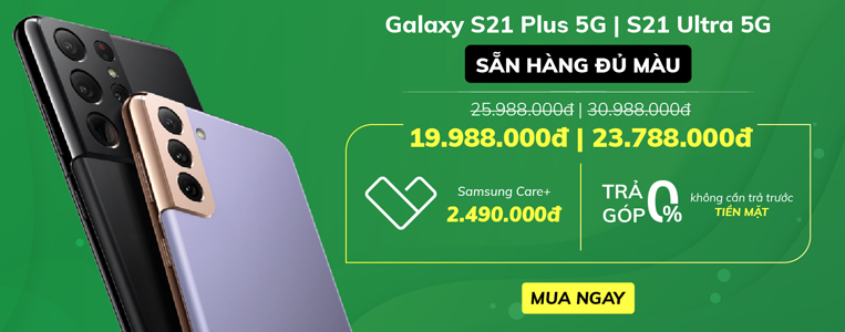 Đặt gạch Samsung Galaxy S21