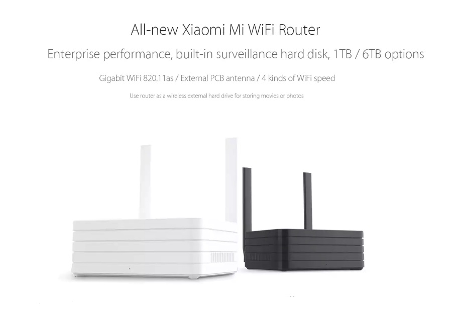 xiaomi router mi wifi 1tb r2d hinh anh 2