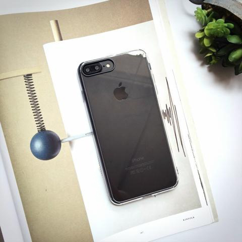 op lung iphone 7 plus rock cheer series case trong suot hinh anh 2