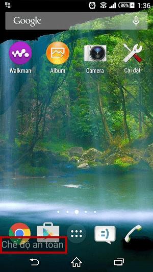 Mẹo bật tắt chế độ an toàn Safe Mode trên điện thoại Android