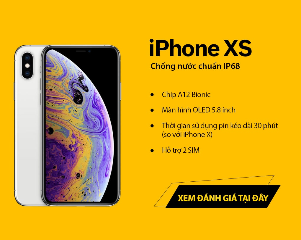 iphone xs, xs max da co mat tai 24hstore