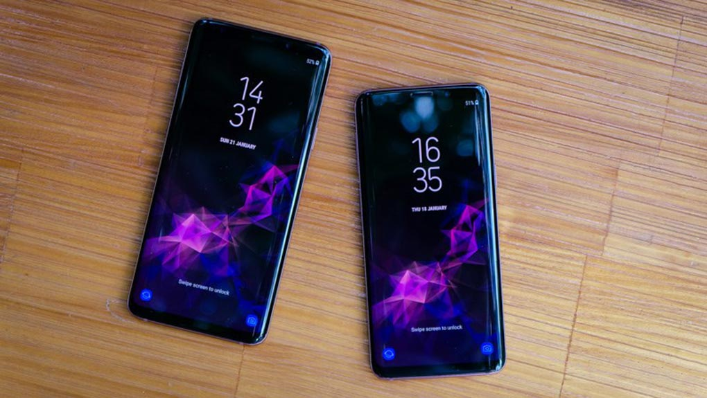 galaxy s9/s9+ sau khi cap nhat android 9 pie tro thanh phien ban nang cap note 9