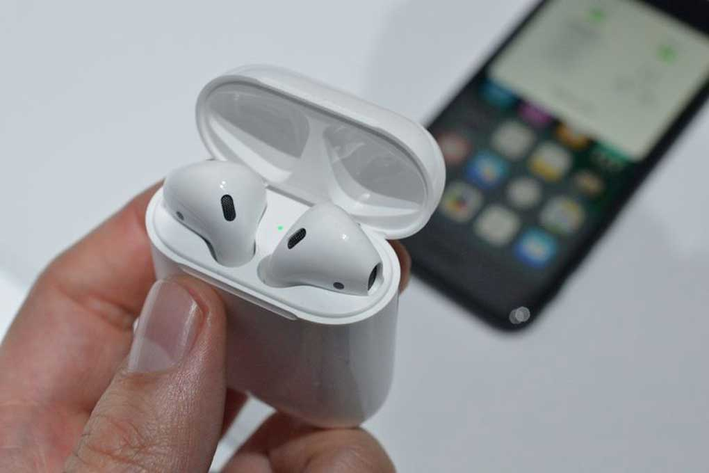 tai nghe apple khong day apple airpods cu hinh 2