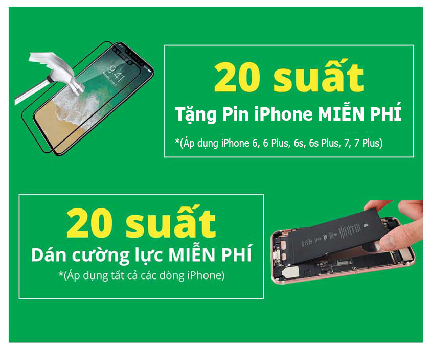 crazy sale tang iphone se mien phi 3