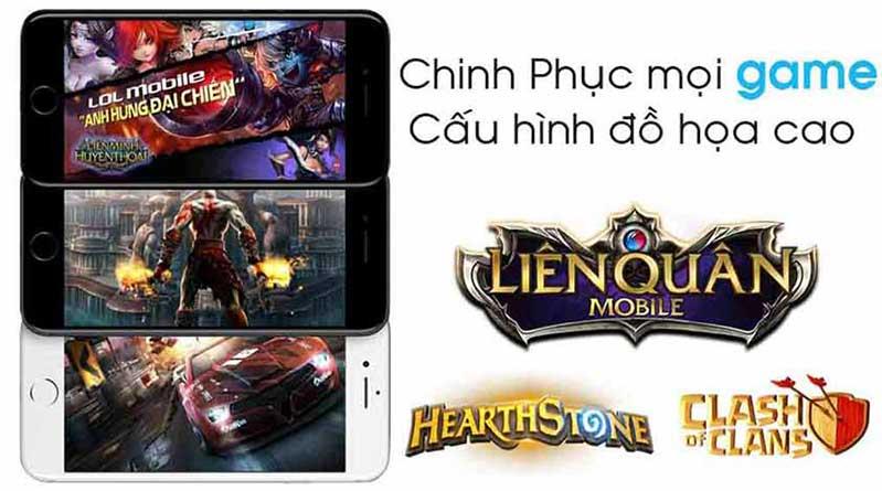 iphone 7 plus có cấu hình đủ sức chiến mọi thể loại game