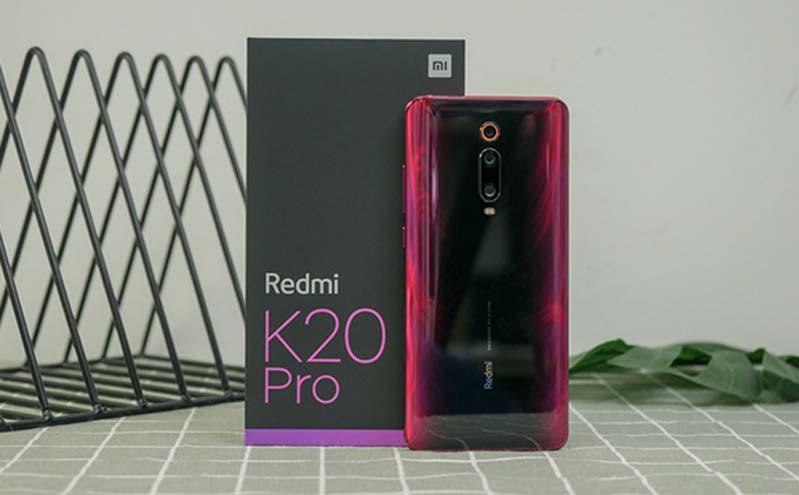 Mặt sau cực đẹp mắt, sang trọng của Redmi K20 Pro
