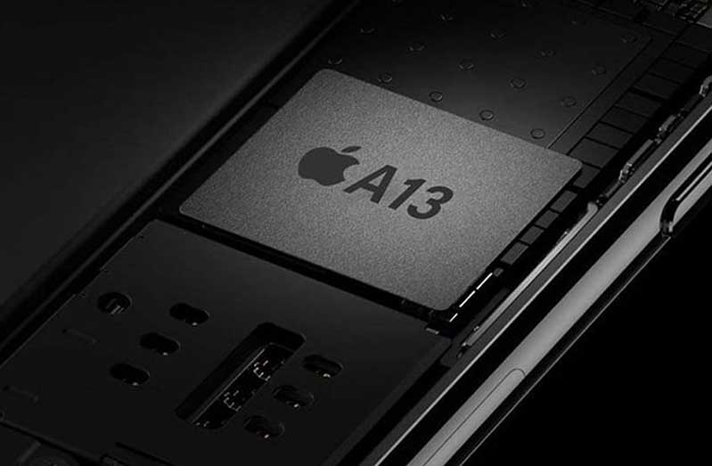 Chip A13 trên iPhone 2019