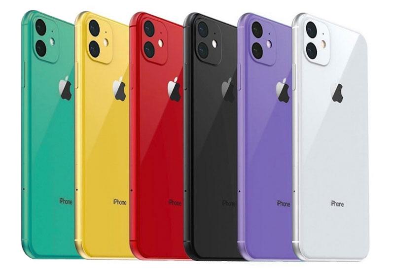 Dàn Iphone 11 đầy màu sắc