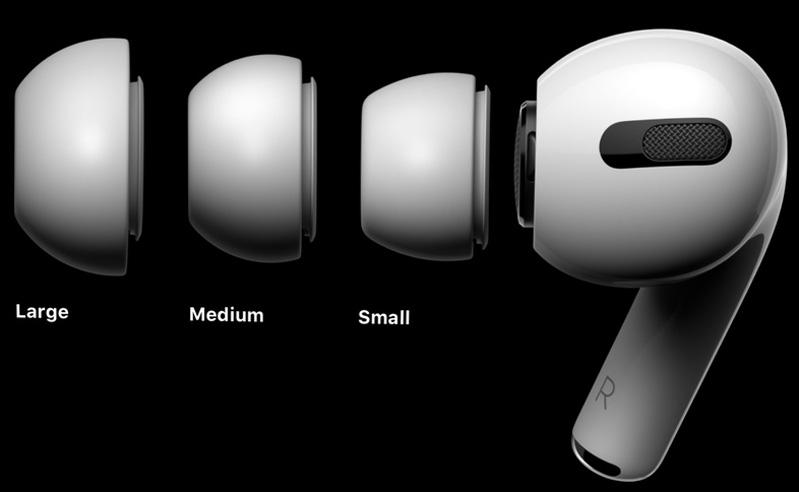 AirPods Pro phù hợp nhiều kích thước tai khác nhau