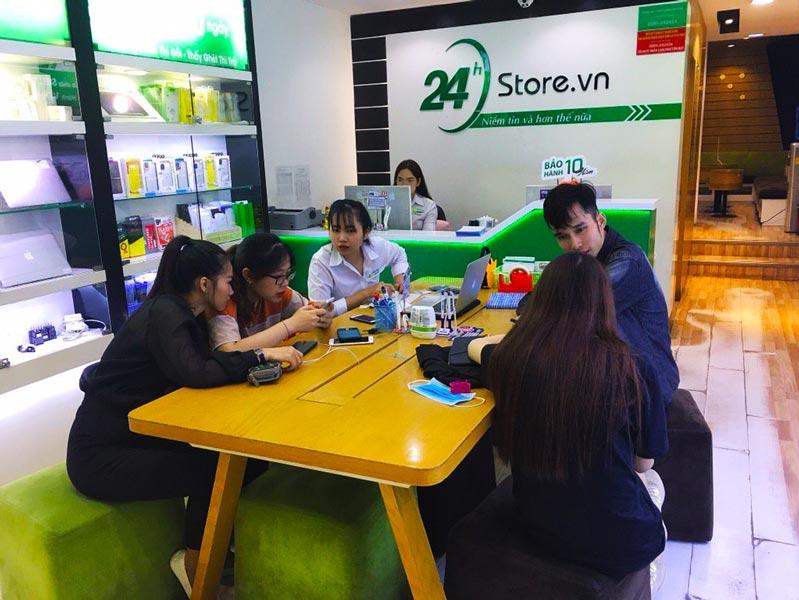 24hstore có đội ngũ nhân viên tư vấn chuyên nghiệp và tận tâm
