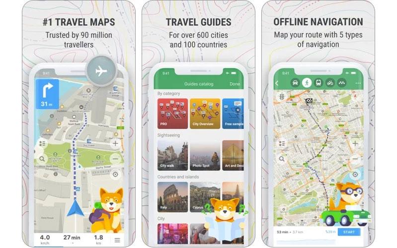 có nên sử dụng app bản đồ ngoại tuyến