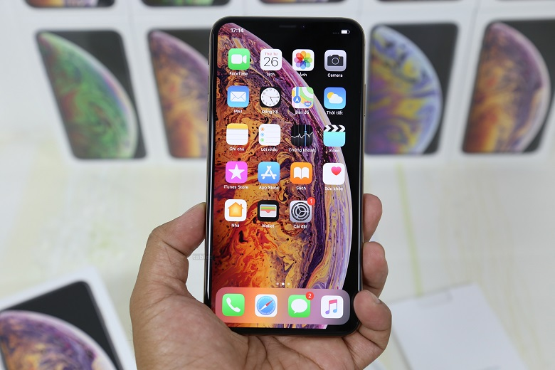 Iphone XS Max có thiết kế sang trọng