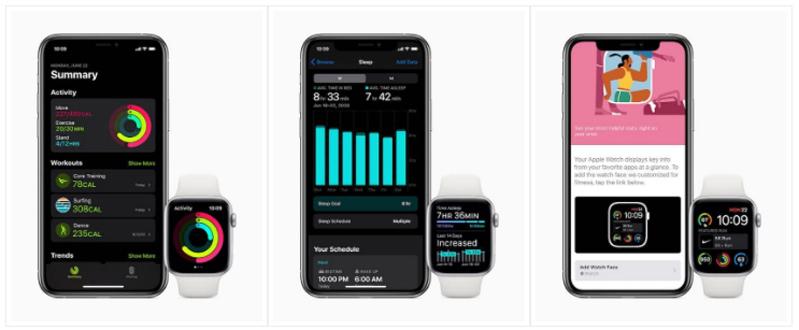 Phiên bản watchOS 7 Apple Watch