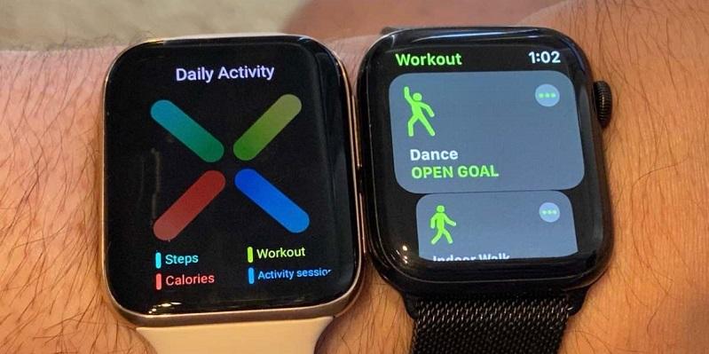 Oppo Watch có vẻ ngoài năng động, thời trang