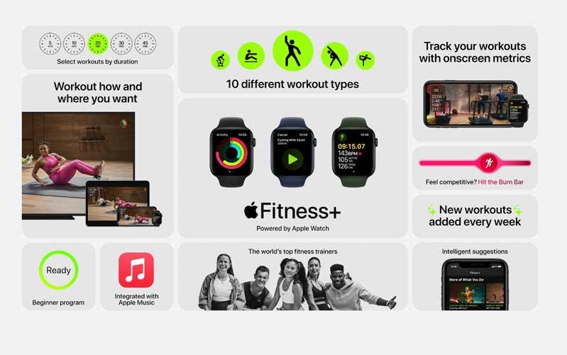 Apple Watch Series 6 LTE 44MM  hỗ trợ chăm sóc sức khoẻ