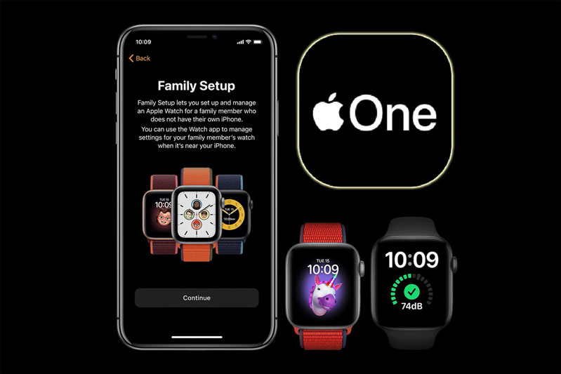 Tính năng Family Setup trên Apple Watch Series 6 Nike