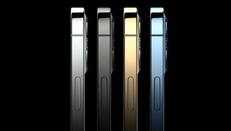 Chiêm ngưỡng các phiên bản màu sắc của iPhone 12 Pro Max