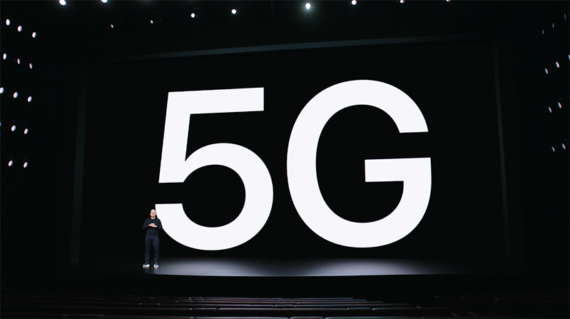 kết nối 5G trên  iPhone 12 128 GB