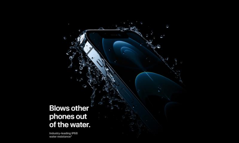 iPhone 12 Pro Max mới có khả năng chống nước cao