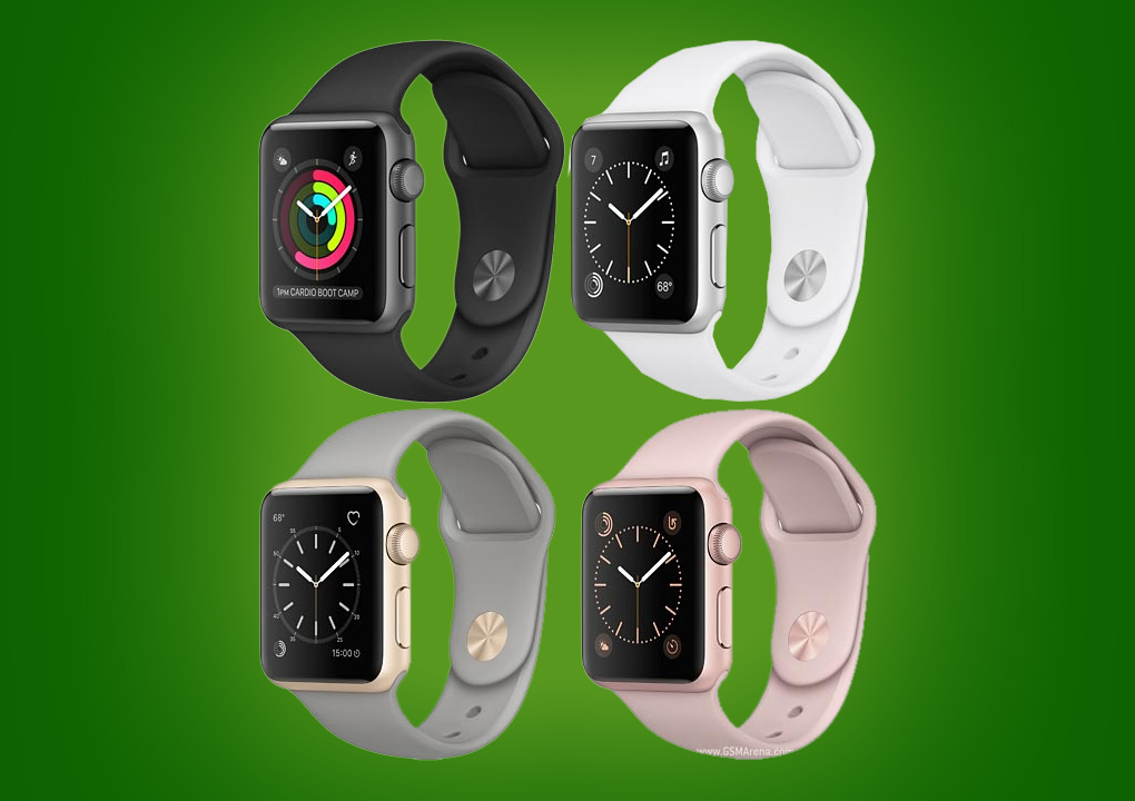 apple watch series 1 42mm mat nhom mau den day cao su 99 hinh anh 3