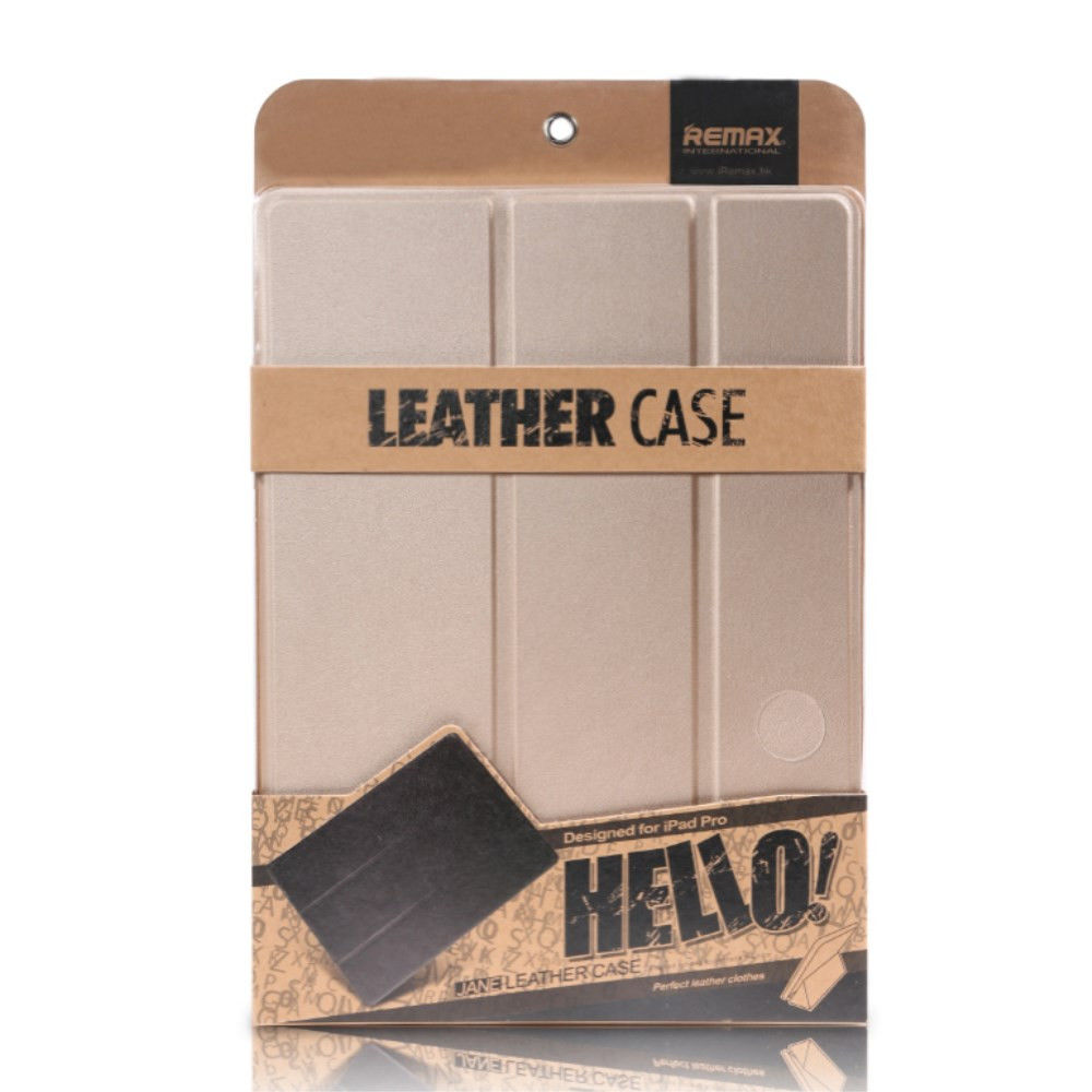 bao da iPad Pro 9.7 Remax Leather Case Hello Nick