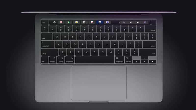 trang bi cua macbook pro 13 inch 2020