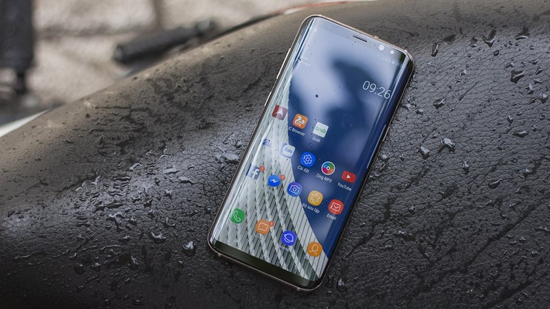 samsung galaxy s9 plus hang cong ty hinh anh 1